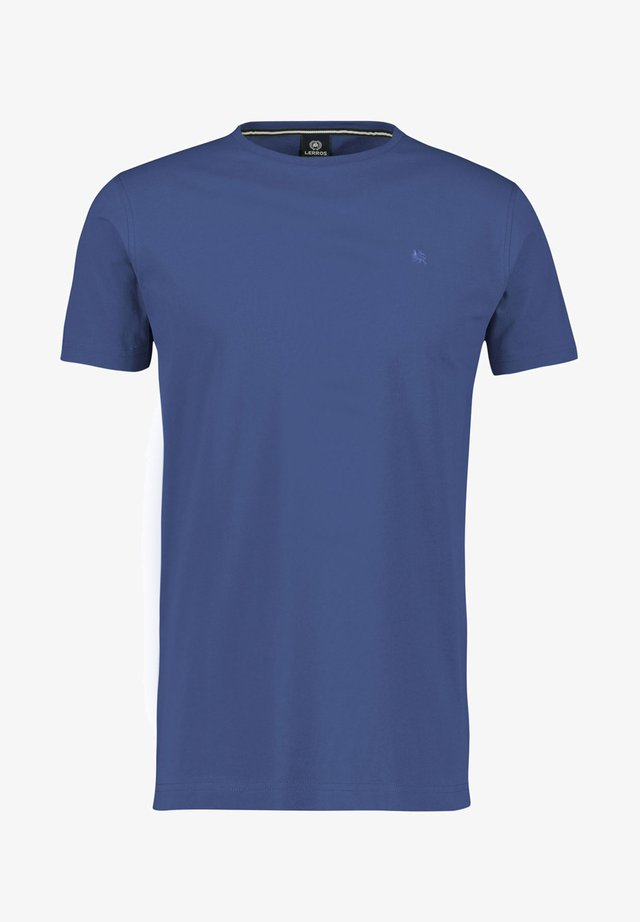 KLASSISCHES T-SHIRT - Basic T-shirt - blue