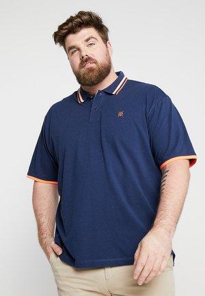 BASIC - Polo - vintage blue