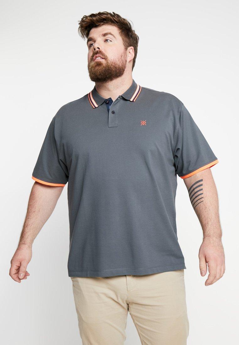LERROS - BASIC - Poloshirt - cement grey
