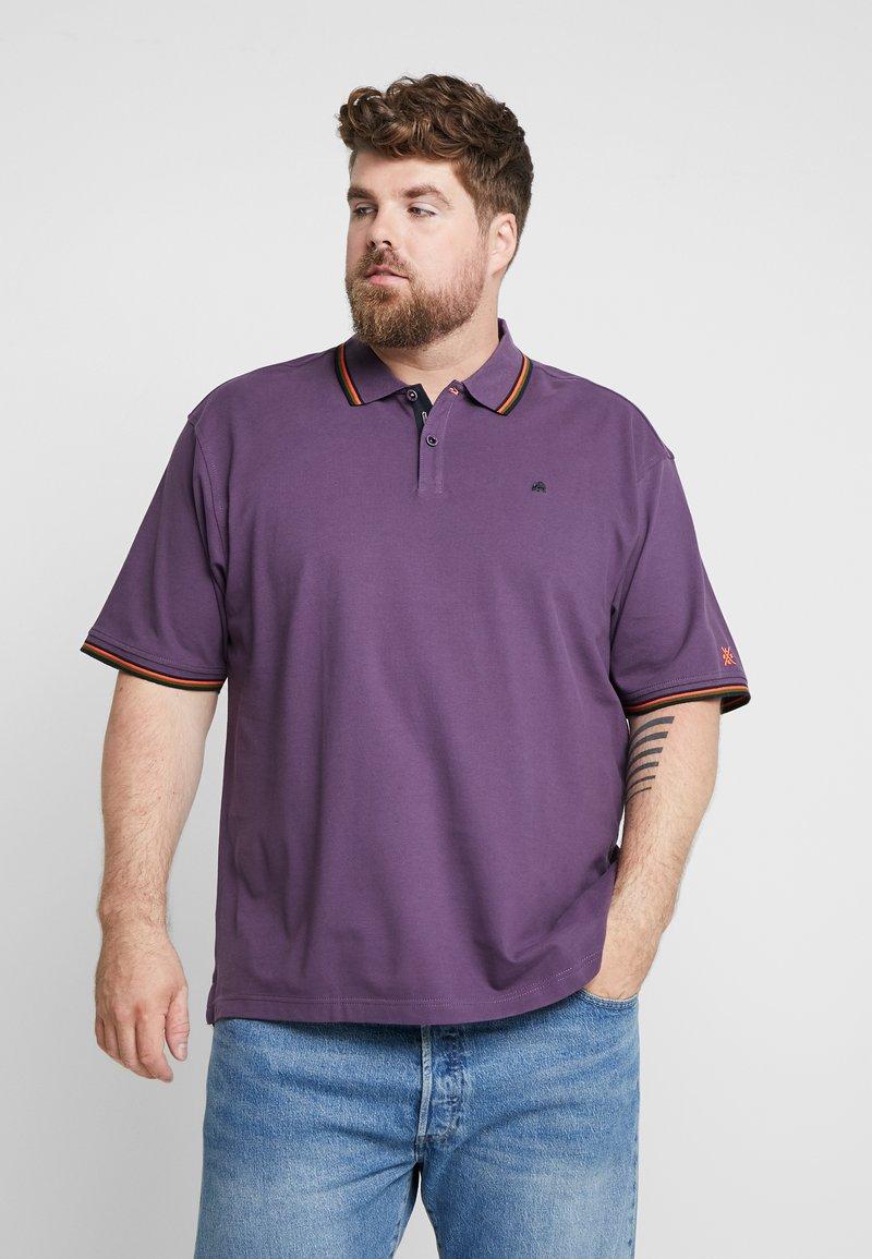 LERROS - Polo shirt - autumn grape