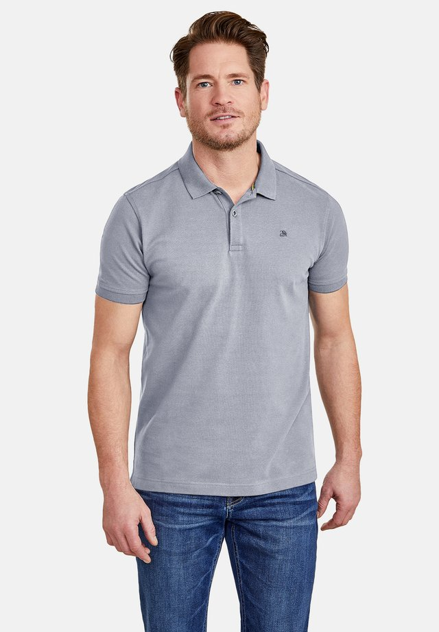 Polo shirt - soft grey