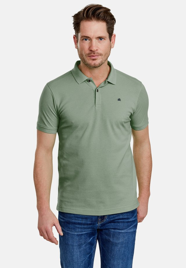 Polo shirt - reed green