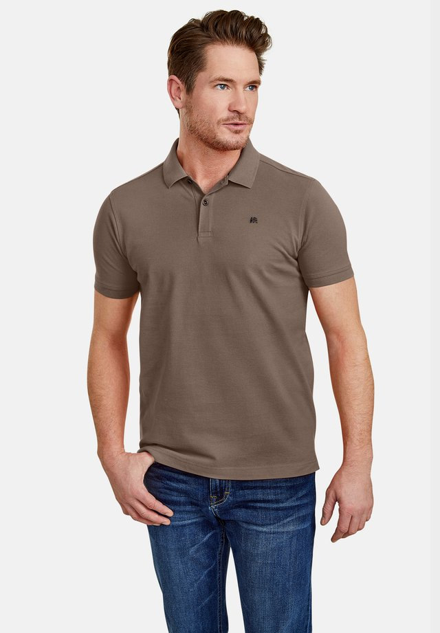 Polo shirt - soil brown