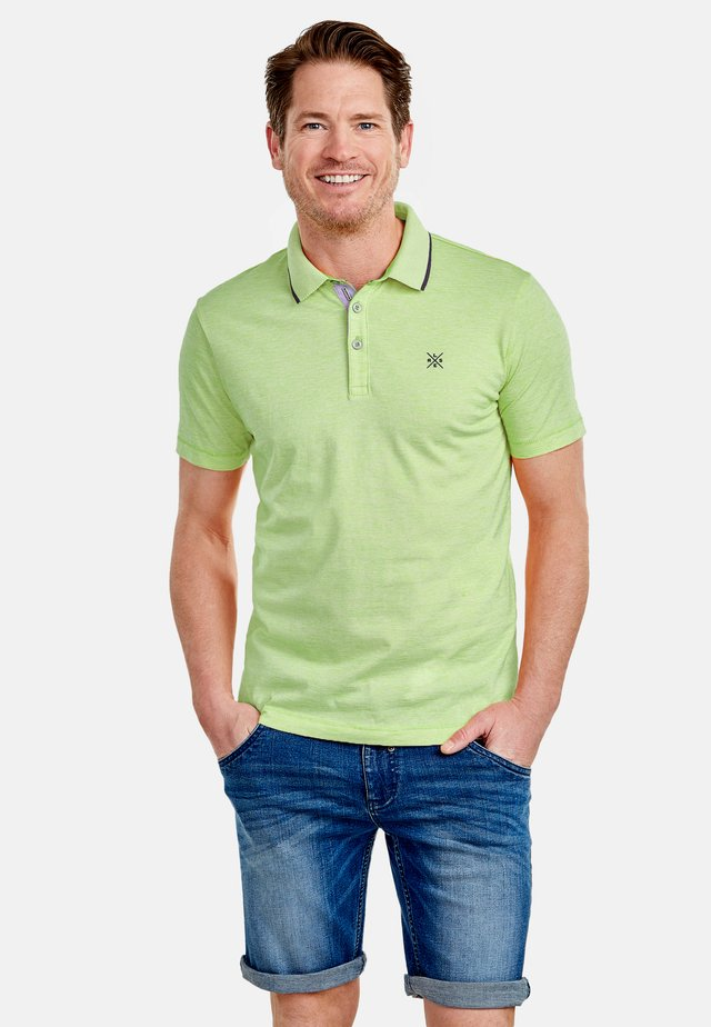 Polo shirt - urban green