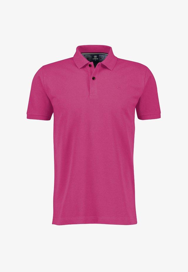 Polo shirt - aurora red