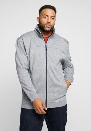 JACKET FELPA - Zip-up hoodie - fog grey