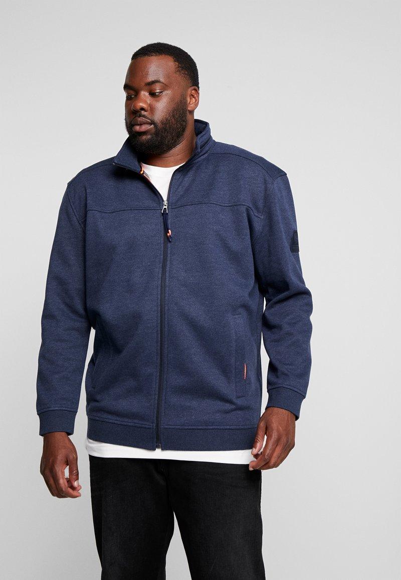 LERROS - JACKET FELPA - Zip-up hoodie - storm blue