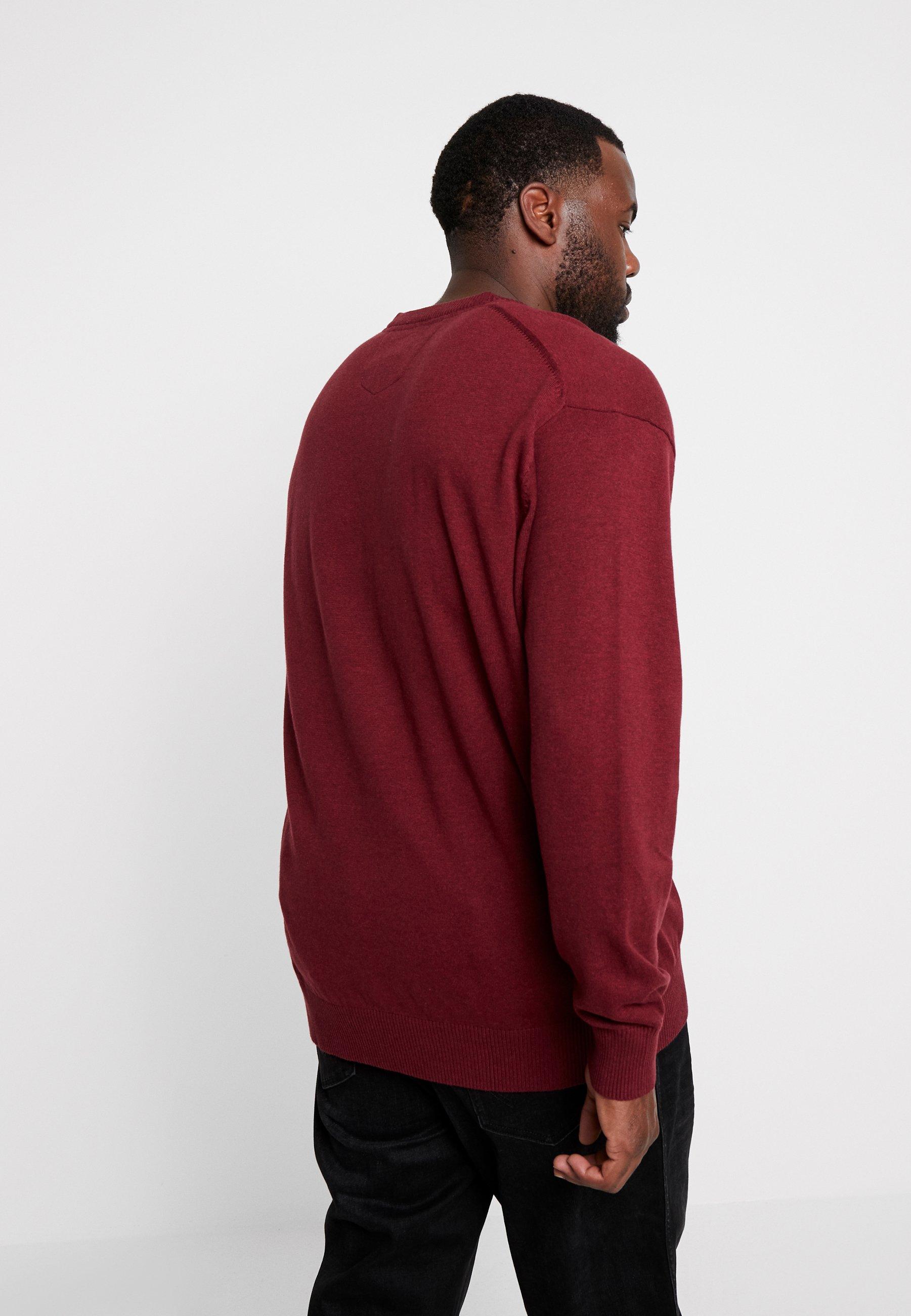 Lerros V neckPullover Winter Berry Melange Nn8m0w