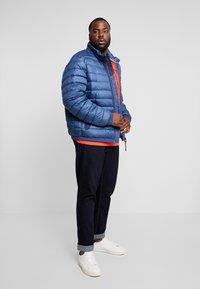 LERROS - LIGHT WEIGHT BLOUSON  - Light jacket - storm blue - 1
