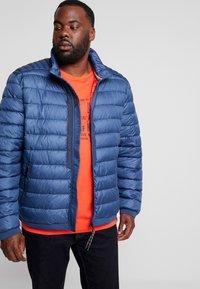 LERROS - LIGHT WEIGHT BLOUSON  - Light jacket - storm blue - 0