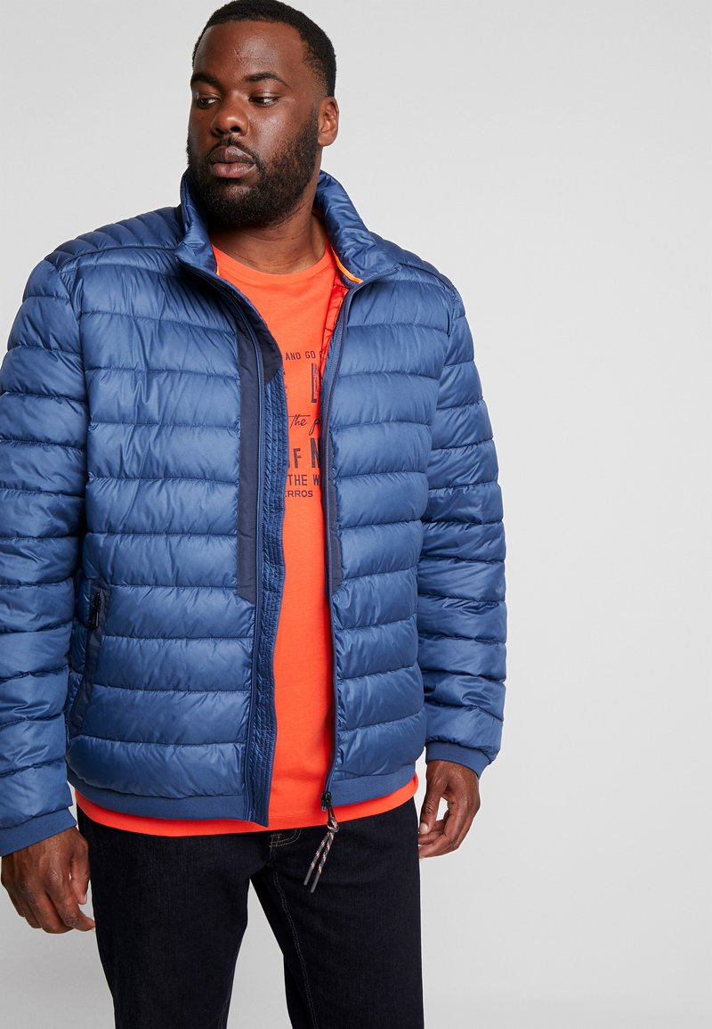 LERROS - LIGHT WEIGHT BLOUSON  - Light jacket - storm blue