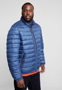 LERROS - LIGHT WEIGHT BLOUSON  - Light jacket - storm blue - 3