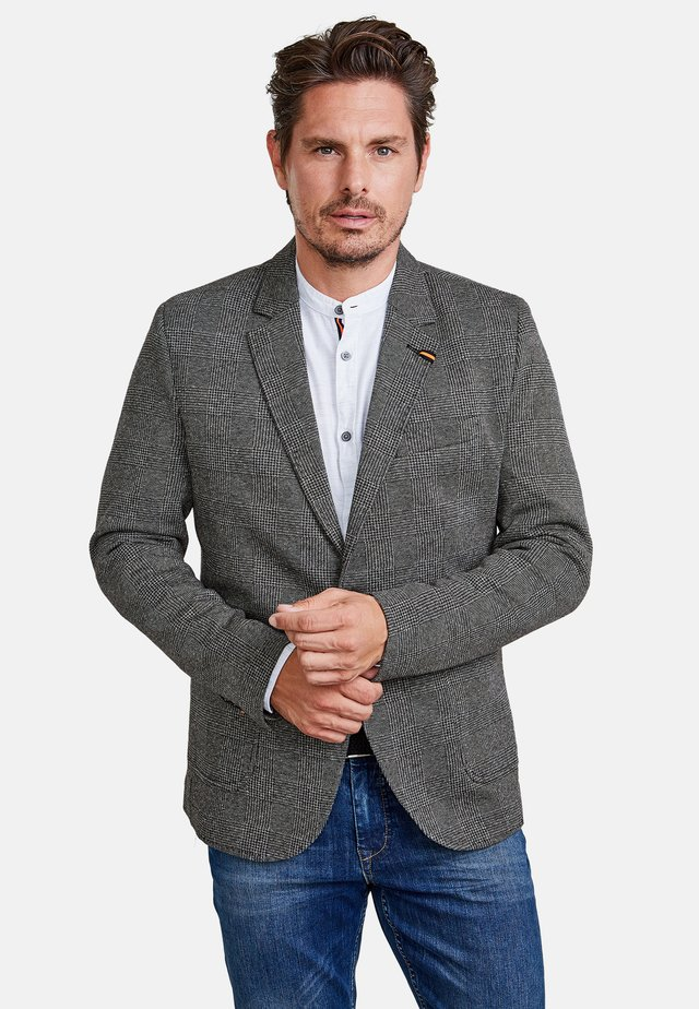 Suit jacket - cement grey