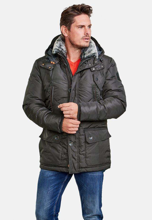 MIT KAPUZE - Winter coat - black