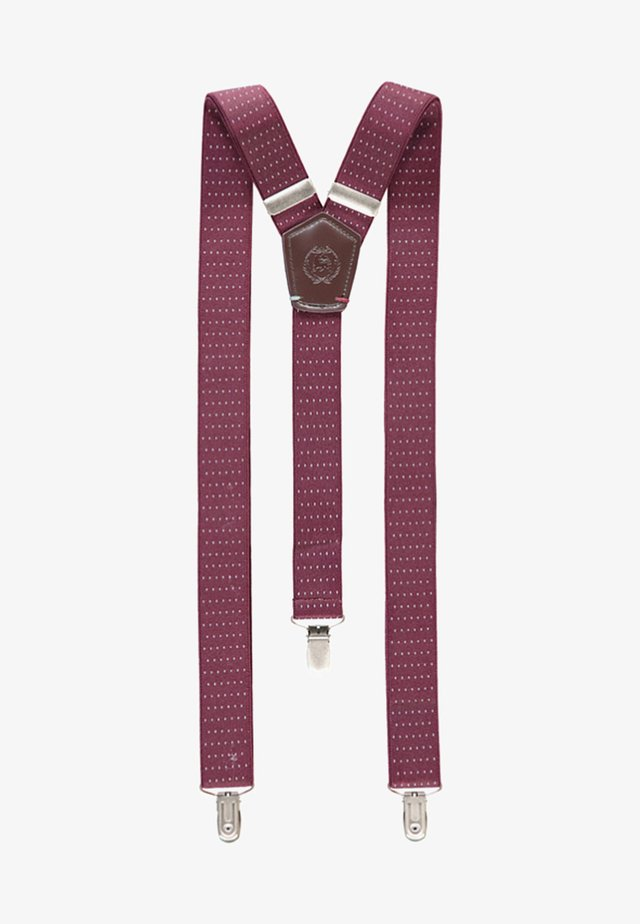 HOSENTRÄGER - Belt - wine red