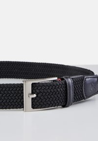 LERROS - HARVEY - Braided belt - black - 3