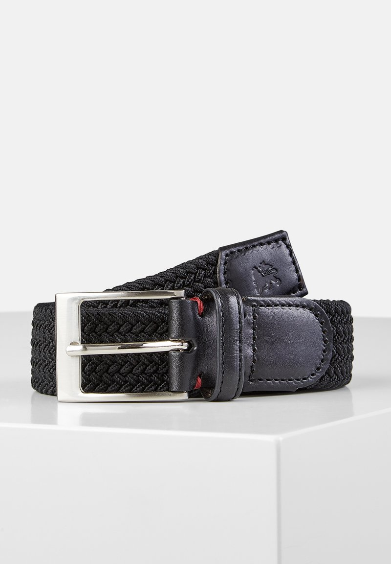 LERROS - HARVEY - Braided belt - black