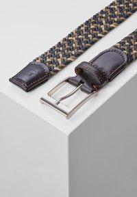 LERROS - Braided belt - dark brown - 2