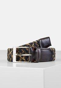 LERROS - Braided belt - dark brown - 0