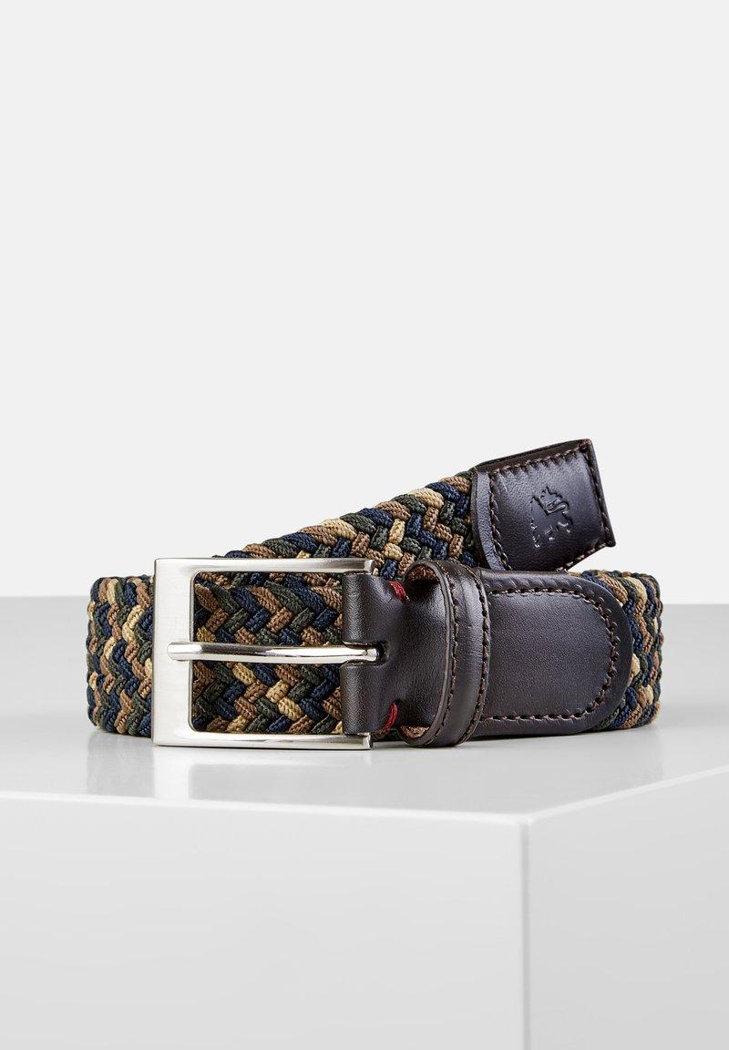 LERROS - Braided belt - dark brown