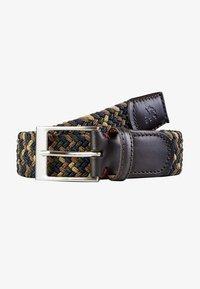 LERROS - Braided belt - dark brown - 4