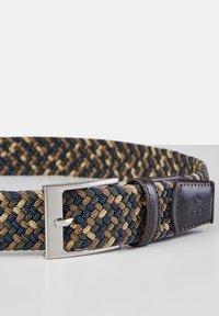 LERROS - Braided belt - dark brown - 3