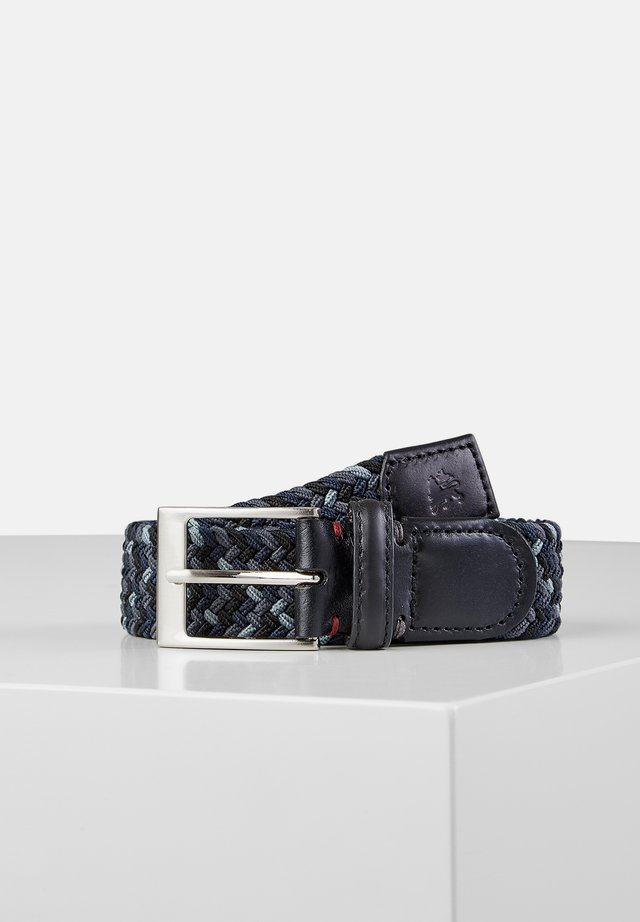 Braided belt - dark anthracite