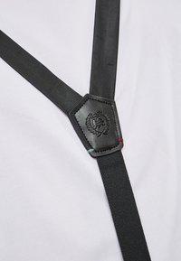 LERROS - SET MIT FLIEGE UND HOSENTRÄGER - Belt - black - 2