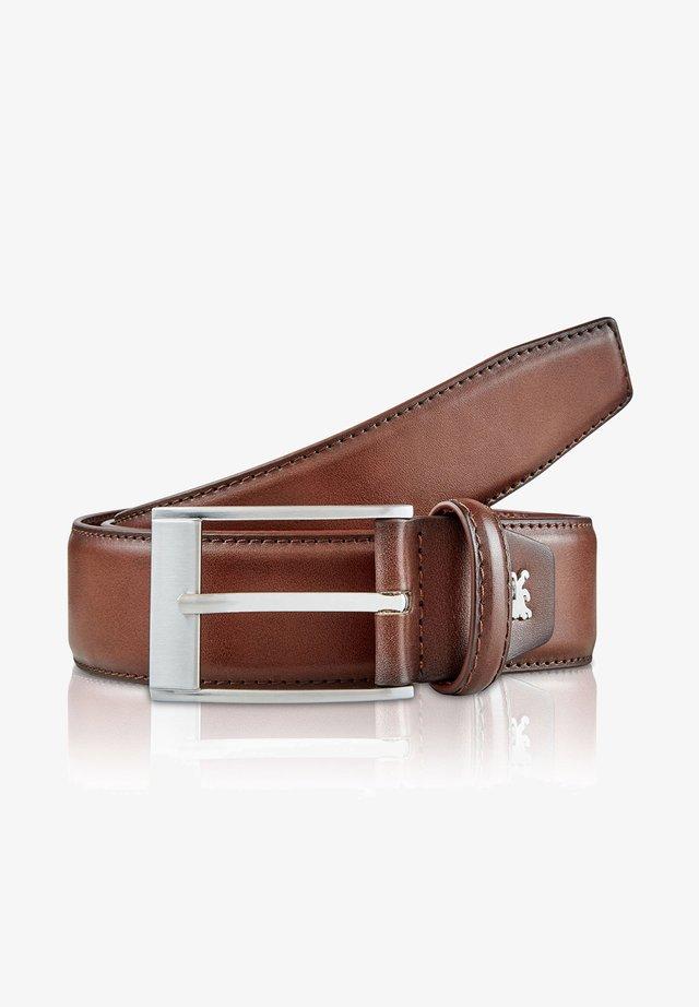 SHADE - Belt business - cognac