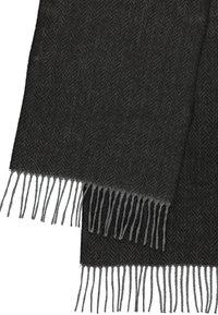 LERROS - MIT ZICK-ZACK MUSTER - Scarf - slate grey - 0