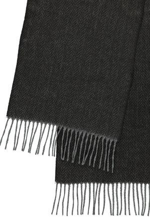 MIT ZICK-ZACK MUSTER - Scarf - slate grey