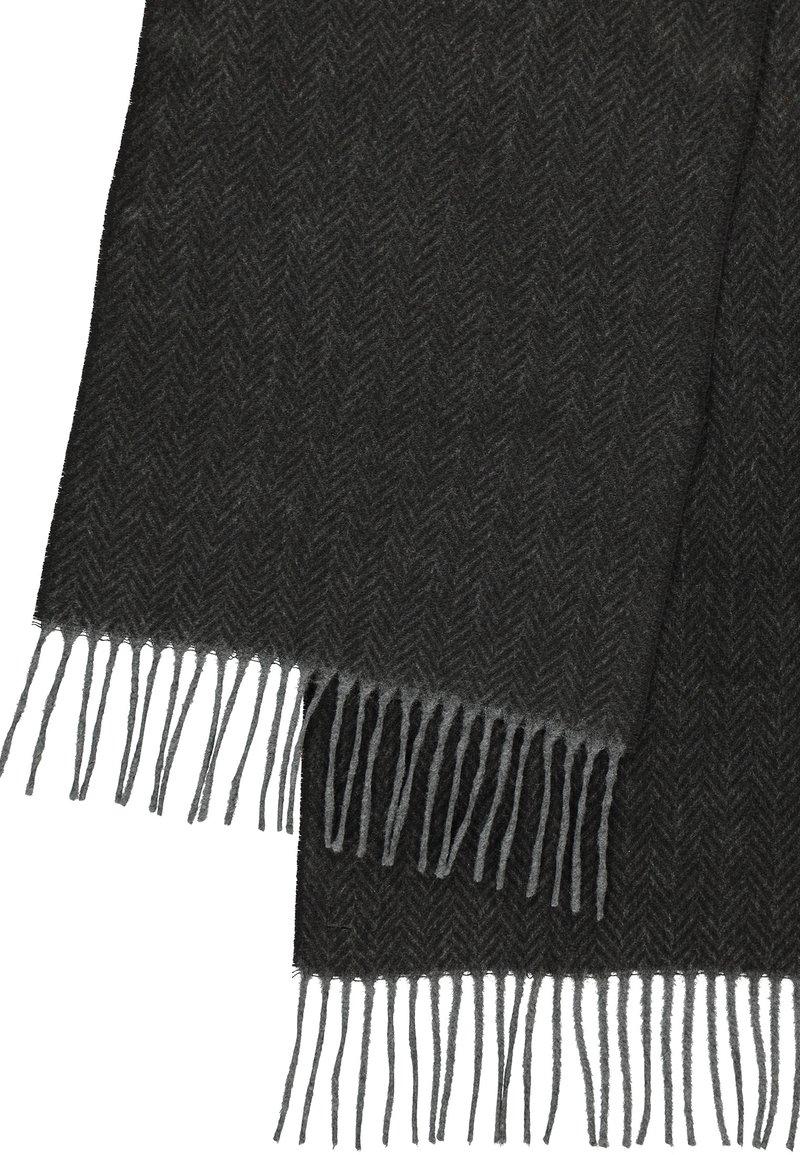 LERROS - MIT ZICK-ZACK MUSTER - Scarf - slate grey
