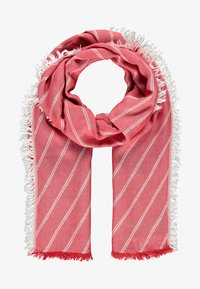 LERROS - MIT STREIFENDESIGN - Scarf - true red - 1