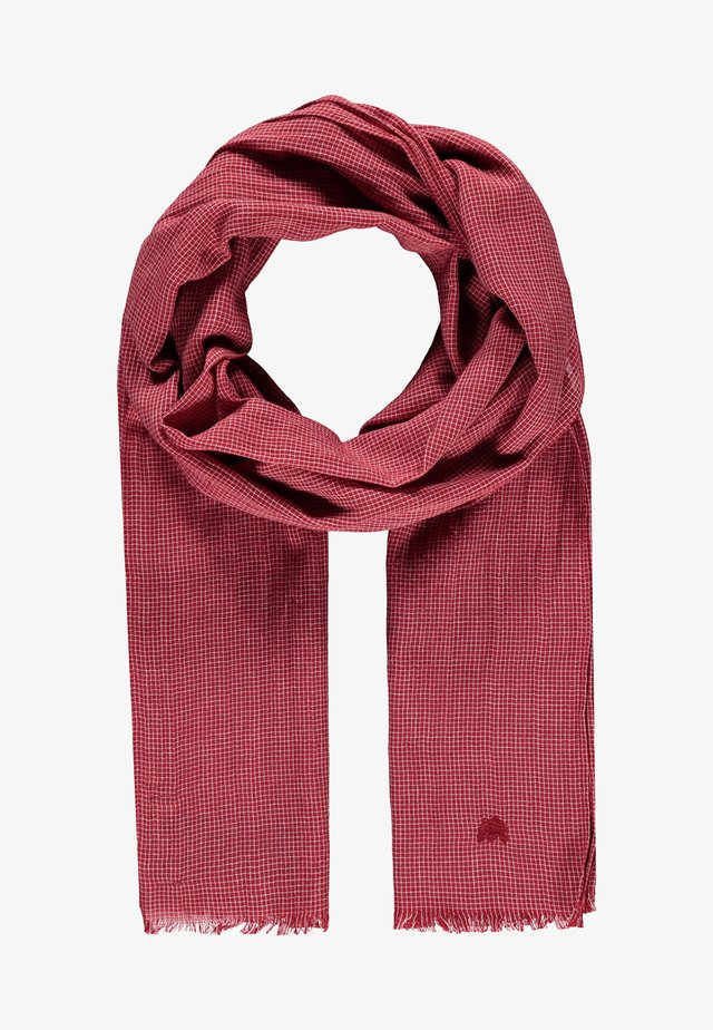 Scarf - true red