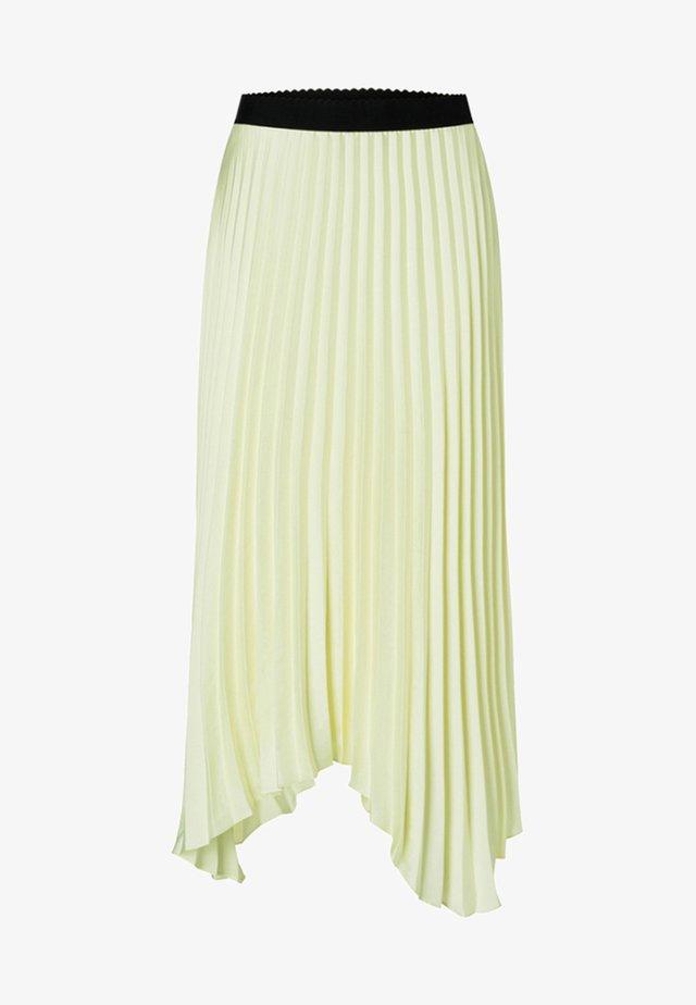 Pleated skirt - vanille