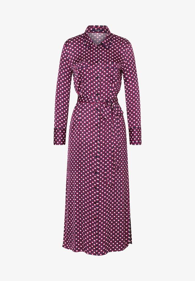 LANGES HEMDBLUSEN - Shirt dress - pink