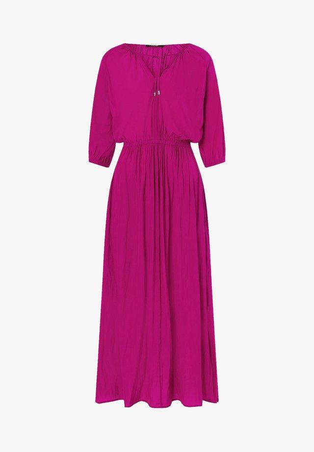 Maxi dress - raspberry