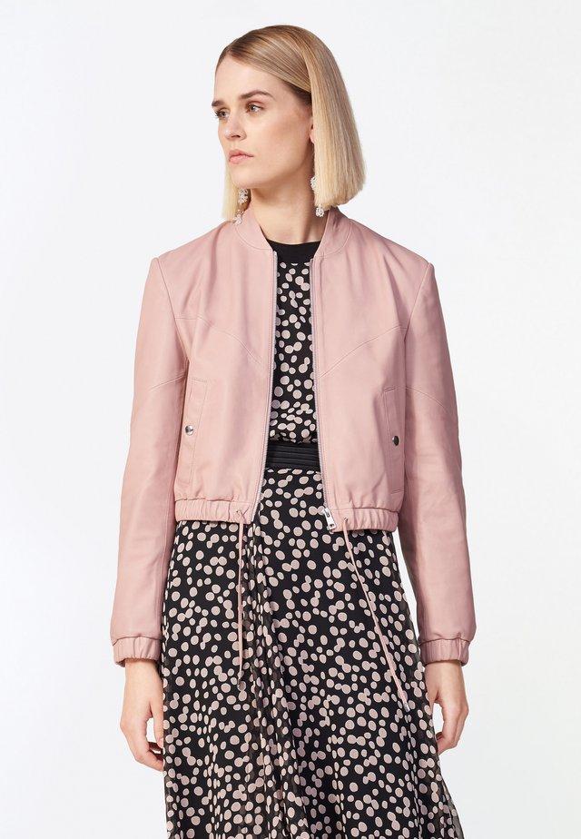 Leather jacket - rosa