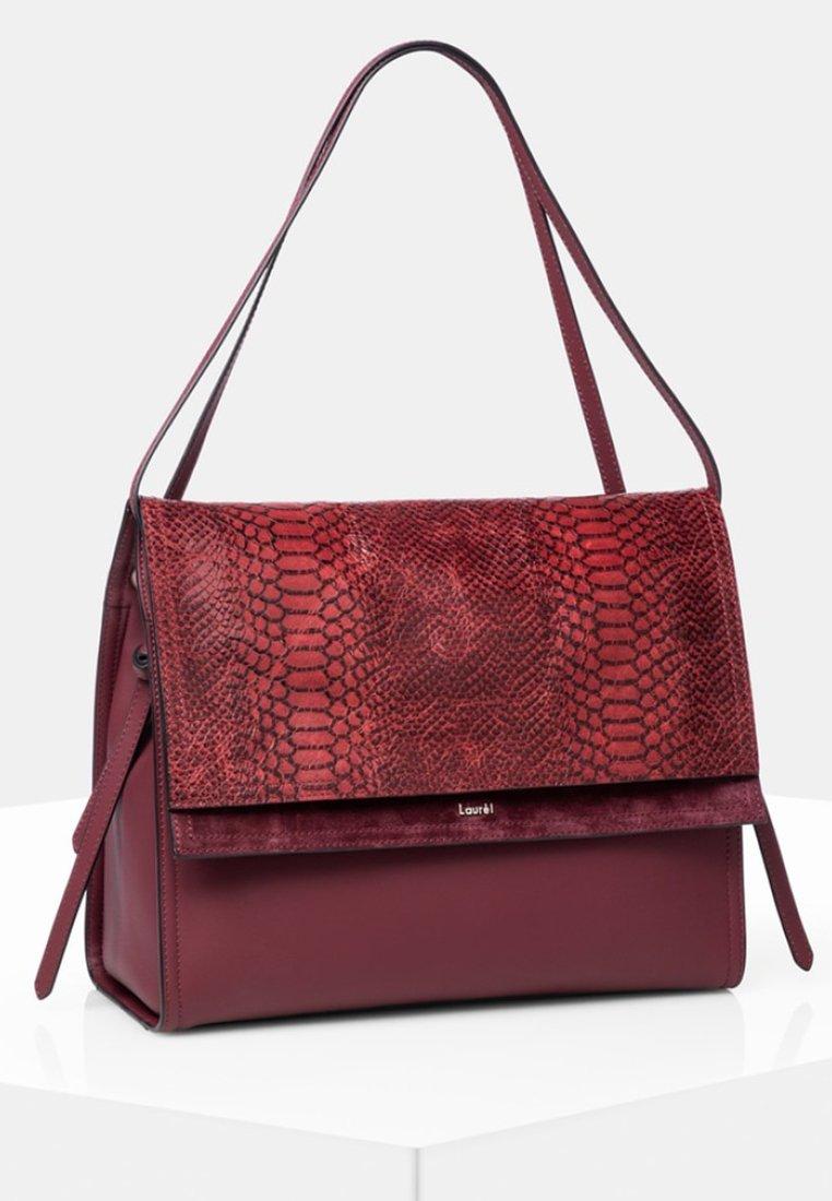 Laurel - Tote bag - dark red