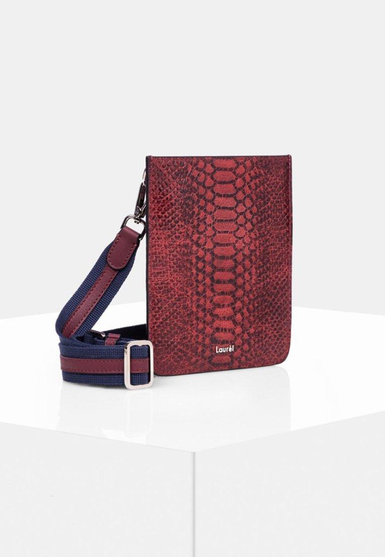 Laurel - Across body bag - dark red