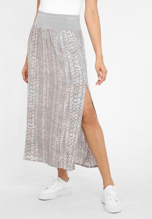 A-line skirt - beige