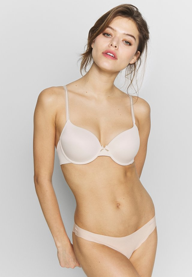 PADDED BRA - Bügel BH - powder