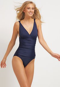 LASCANA - SWIMSUIT - Badedragter - navy - 1