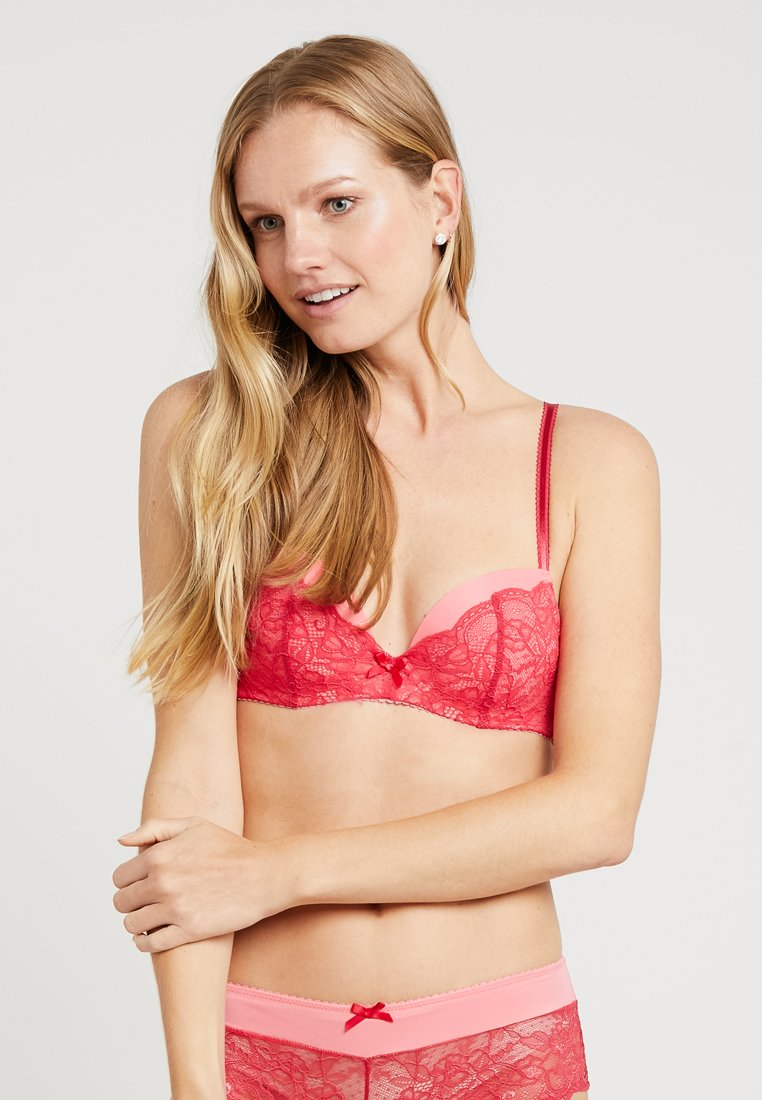 LASCANA - LUISA BRA - Push-up-bh'er - pink/red