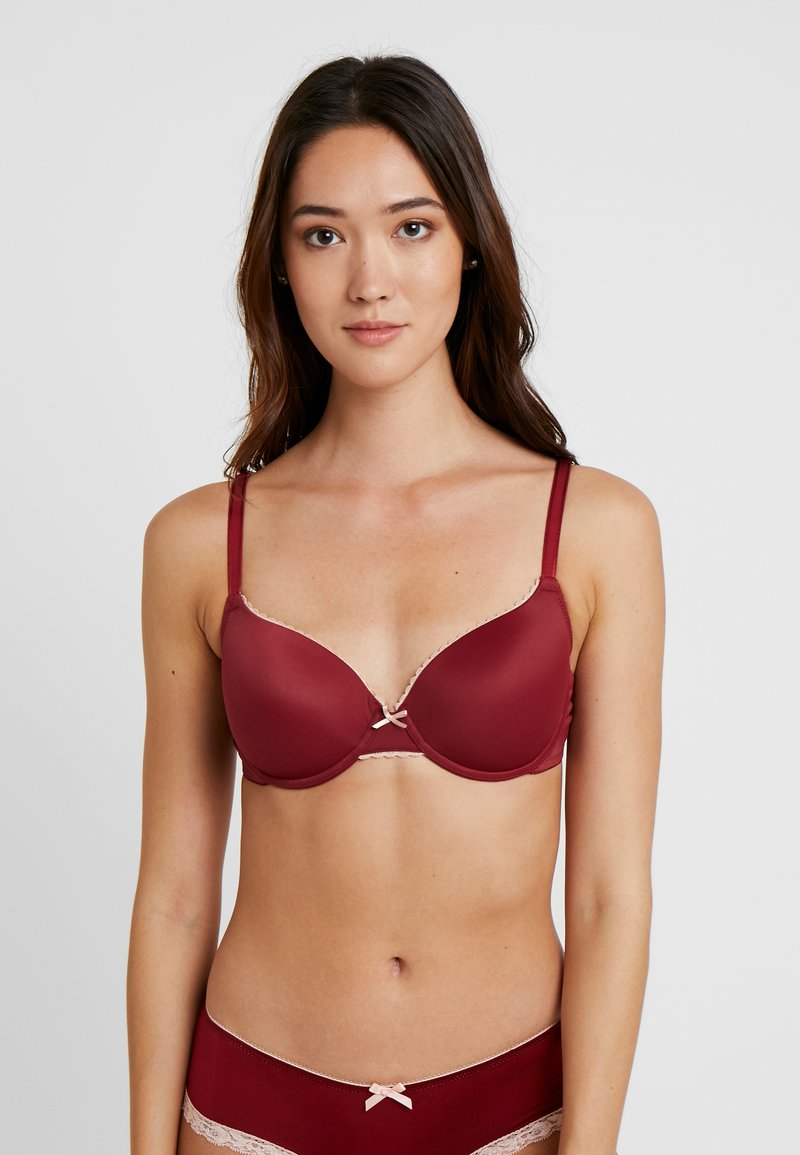 LASCANA - AMINA PADDED BRA - Underwired bra - red