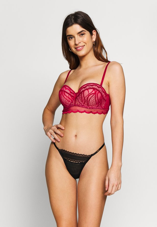 SOFIA PADDED BRA - Push up -rintaliivit - dark pink