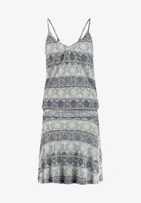 LASCANA - GISELLE BEACHDRESS - Jersey dress - schwarz/crem - 5