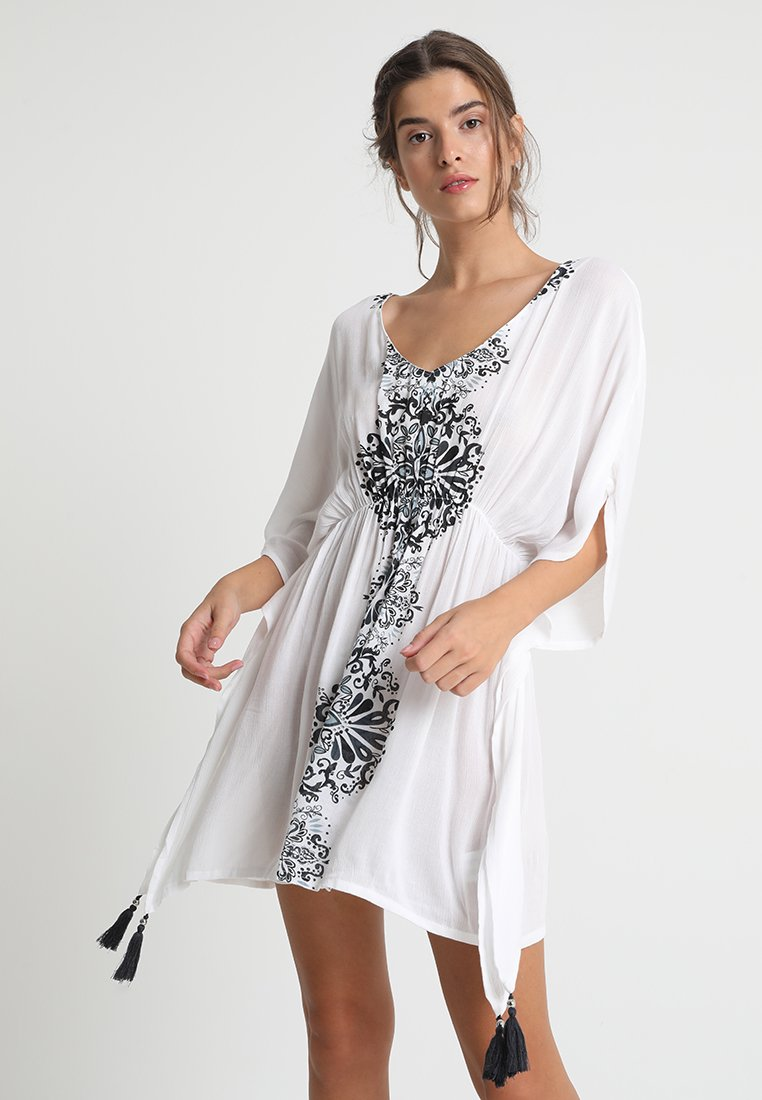 Buffalo - Strand accessories - weiß/schwarz