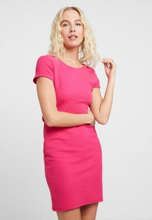 BOW - Shift dress - pink