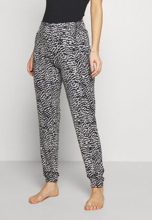 BEACHPANTS - Pyjama bottoms - schwarz/sand